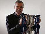 Pr Shoot - Capital One PR Shoot 21/01/2016 - Synergy, 60 Great Portland Street, London W1W 7RT - 21/1/16 Graeme Souness poses with the Capital One Cup Mandatory Credit: Action Images / Andrew Boyers Livepic EDITORIAL USE ONLY.