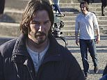 First day of shooting for Keanu Reeves on the set of John Wick 2 in Rome, directed by Chad Stahelski  Pictured: Keanu Reeves Ref: SPL1177491  250116   Picture by: Splash News  Splash News and Pictures Los Angeles: 310-821-2666 New York: 212-619-2666 London: 870-934-2666 photodesk@splashnews.com