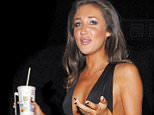 Picture Shows: Megan McKenna  January 23, 2016    Megan McKenna stops at a McDonalds drive-thru in London, England after being evicted from the 'Celebrity Big Brother' house.    Exclusive All round  WORLDWIDE RIGHTS    Pictures by : FameFlynet UK © 2016  Tel : +44 (0)20 3551 5049  Email : info@fameflynet.uk.com