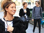25 Jan 2016  - London  - UK\n*** EXCLUSIVE ALL ROUND PICTURES ***\nFerne McCann and George Shelley acting all coy as they leave Capital Radio after co-presenting with Dave Berry on his Breakfast Show. The former 'I Am A Celebrity Get Me Out Of Here' contestants were camera shy as Ferne pop in a newsagent to buy some cigarettes. Afterwards, Ferne left in her limo while George went back inside Capital Radio  - London \nBYLINE MUST READ : XPOSUREPHOTOS.COM\n***UK CLIENTS - PICTURES CONTAINING CHILDREN PLEASE PIXELATE FACE PRIOR TO PUBLICATION ***\n**UK CLIENTS MUST CALL PRIOR TO TV OR ONLINE USAGE PLEASE TELEPHONE  442083442007