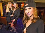 Picture Shows: Billie Faiers, Ferne McCann  January 23, 2016\n \n Celebrities are seen celebrating Billie Faiers birthday at Cafe De Paris in London. Billie was presented with a stunning custom Valentino branded cake and flowing Grey Goose vodka. She spent the night partying with friends.\n \n Exclusive - All Round\n WORLDWIDE RIGHTS\n \n Pictures by : FameFlynet UK © 2016\n Tel : +44 (0)20 3551 5049\n Email : info@fameflynet.uk.com