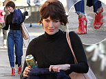 Picture Shows: Lena Headey  January 24, 2016    Lena Heady arrives to make an appearance on 'Jimmy Kimmel Live!' in Hollywood, California on January 25, 2016.    Non-Exclusive  UK RIGHTS ONLY    Pictures by : FameFlynet UK © 2016  Tel : +44 (0)20 3551 5049  Email : info@fameflynet.uk.com