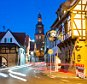 KALLSTADT, GERMANY - JANUARY 25:  The lights of passing cars are seen in this generalview of Kallstadt, where Friedrich Trump, grandfather of U.S. presidential candidate Donald Trump, grew up, on January 25, 2016 in Kallstadt, Germany. Kallstadt is a village located in the wine-growing region of southwestern Germany and is the birthplace of Friedrich Trump, who at the age of 16 emigrated to the United States in 1885. There he eventually became a businessman, owning a hotel and several restaurants, and after his death his wife Elizabeth and son Fred (Donald Trump's father) expanded the business into a real estate enterprise called Elizabeth Trump and Son. Donald Trump took control of the company in 1971 and grew it into Trump Organization LLC.  (Photo by Thomas Lohnes/Getty Images)