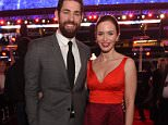 ARLINGTON, TX - JANUARY 12:  Actors John Krasinski (L) and Emily Blunt attend the Dallas Premiere of the Paramount Pictures film 13 Hours: The Secret Soldiers of Benghazi at the AT&T Dallas Cowboys Stadium on January 12, 2016 in Arlington, Texas.  (Photo by Jason Kempin/Getty Images for Paramount Pictures)