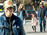EXCLUSIVE TO INF.\nJanuary 25, 2016: Kimberly Stewart and Benecio Del Torro take their daughter Delilah to the California Science Center in Los Angeles, California.\nMandatory Credit: INFphoto.com\nRef: infusla-300\n