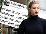 Hailey Baldwin has lunch at Alfred Coffee before meeting up with an unknown male friend\n\nPictured: Hailey Baldwin\nRef: SPL1211827  190116  \nPicture by: LA Photo Lab / Splash News\n\nSplash News and Pictures\nLos Angeles: 310-821-2666\nNew York: 212-619-2666\nLondon: 870-934-2666\nphotodesk@splashnews.com\n