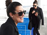 Lea Michele arrives at JFK airport in NYC.\n\nPictured: Lea Michele\nRef: SPL1215250  260116  \nPicture by: Ron Asadorian / Splash News\n\nSplash News and Pictures\nLos Angeles: 310-821-2666\nNew York: 212-619-2666\nLondon: 870-934-2666\nphotodesk@splashnews.com\n