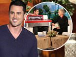 Star of ¿The Bachelor¿ BEN HIGGINS joins ¿The Ellen DeGeneres Show¿ on Tuesday, January 26th and talks to Ellen about looking back on the season and kissing multiple girls in one night!  Ben also goes through photos of each bachelorette with Ellen and comes up with one word to describe each of them.  Plus, Ellen gives Ben a gift of giant altoids and chapstick to help with his make-out sessions!