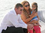 1.JULY.2015 - FORMENTERA - SPAIN....*** NOT AVAILABLE FOR ITALY ***....MARIAH CAREY AND JAMES PACKER ON HOLIDAY IN FORMENTERA. THE COUPLE WERE SEEN COMING ASHORE FROM JAMES PACKER'S SUPER YACHT THE ARCTIC P DURING THEIR HOLIDAY IN THE MEDITERRANEAN FOR SOME LUNCH. THE 45 YEAR OLD SINGER WORE A CLEAVAGE-BARING, CUT-OUT SWIMSUIT AND PINK SARONG TIED LOOSELY AROUND HER WAIST AND AN ORANGE HANDBAG LOOPED OVER ONE ARM. SHE ALSO WORE BLACK-STRAPPED PLATFORM SHOES....BYLINE MUST READ : XPOSUREPHOTOS.COM....***UK CLIENTS - PICTURES CONTAINING CHILDREN PLEASE PIXELATE FACE PRIOR TO PUBLICATION ***....**UK CLIENTS MUST CALL PRIOR TO TV OR ONLINE USAGE PLEASE TELEPHONE 44 208 344 2007**