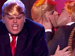 josh gad donald trump kiss lip sync battle