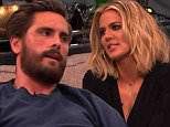 scott disick kocktails with khloe