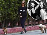 EXCLUSIVE: Minka Kelly wears a sweater that reads 'Goon' while walking her two dogs in Los Angeles, California on January 25, 2016.\n\nPictured: Minka Kelly\nRef: SPL1215108  250116   EXCLUSIVE\nPicture by: Photographer Group / Splash News\n\nSplash News and Pictures\nLos Angeles: 310-821-2666\nNew York: 212-619-2666\nLondon: 870-934-2666\nphotodesk@splashnews.com\n