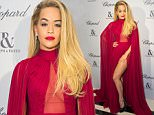 PARIS, FRANCE - JANUARY 25:  Rita Ora attends the Ralph & Russo and Chopard dinner during part of Paris Fashion Week on January 25, 2016 in Paris, France.  (Photo by Samir Hussein/WireImage)