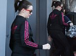 Anne Hathaway Slips Out of Her Gym in an Adidas Jacket\n\nPictured: Anne Hathaway\nRef: SPL1215190  250116  \nPicture by: All Access Photo\n\nSplash News and Pictures\nLos Angeles: 310-821-2666\nNew York: 212-619-2666\nLondon: 870-934-2666\nphotodesk@splashnews.com\n