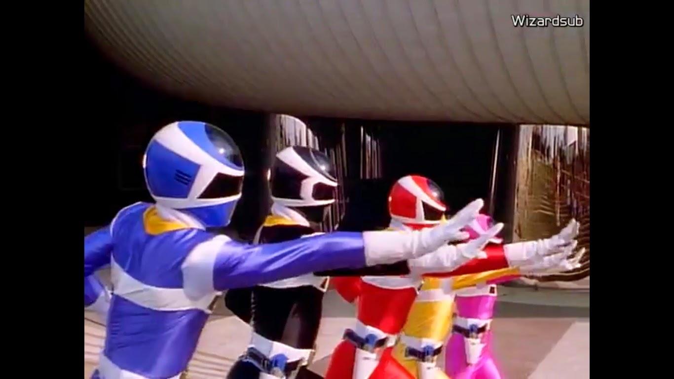 Denji Sentai Megaranger Episode 01 – 51 Subtitle Indonesia