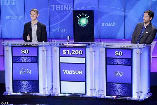 More practical than Jeopardy: IBM has been thinking big when it comes to Watson and since its 2011 Jeopardy win against champs including Ken Jennings, the firm has created a Manhattan-based arm of the company specifically geared toward putting the supercomputer to use for businesses and consumers