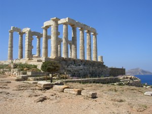 Temple of Poseidon, Sounion, Greece ()