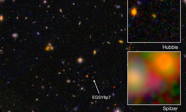 Caltech astronomers confirm most distant galaxy known in the universe