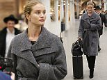 Mandatory Credit: Photo by Beretta/Sims/REX/Shutterstock (5574532j)\nRosie Huntington Whitley at King's Cross St Pancras station\nRosie Huntington-Whiteley out and about, London, Britain - 28 Jan 2016\n