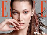 Elle Brazil February 2016: Bella Hadid by Max Abadian Photographer: Max Abadian Fashion Editor: Marcell Maia Hair: Frankie Foye Make Up: Nina Park