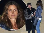 27 Jan 2016 - Malibu, CA - USA\n*** STRICTLY AVAILABLE FOR UK AND GERMANY USE ONLY ***\n*EXCLUSIVE ALL ROUND PICTURES* \nKris Jenner and Cindy Crawford met for a sushi dinner at Nobu in Malibu. The Kardashian family matriarch bundled up in a fur coat over a graphic tee, black leggings and matching black boots. The talented duo shared a hug before they parted ways.\nBYLINE MUST READ : AKM-GSI-XPOSURE\n***UK CLIENTS - PICTURES CONTAINING CHILDREN PLEASE PIXELATE FACE PRIOR TO PUBLICATION ***\n*UK CLIENTS MUST CALL PRIOR TO TV OR ONLINE USAGE PLEASE TELEPHONE 0208 344 2007*\n