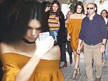 28.JANUARY.2016 - BARCELONA - SPAIN\nAmerican Model Kendall Jenner is spotted in out in Barcelona before attending a Mango event.\nBYLINE MUST READ : XPOSUREPHOTOS.COM\n***UK CLIENTS - PICTURES CONTAINING CHILDREN PLEASE PIXELATE FACE PRIOR TO PUBLICATION ***\nGERMAN CLIENTS PLEASE CALL TO AGREE FEE PRIOR TO PUBLICATION **UK AND USA CLIENTS MUST CALL PRIOR TO TV OR ONLINE USAGE PLEASE TELEPHONE  +44 208 344 2007