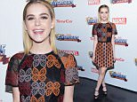 LOS ANGELES, CA - JANUARY 27:  Actress Kiernan Shipka attends the MARVEL Avengers Academy's Party at Teragram Ballroom on January 27, 2016 in Los Angeles, California.  (Photo by Michael Tullberg/Getty Images)
