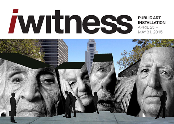 The flyer announcing the unveiling of iwitness on April 25