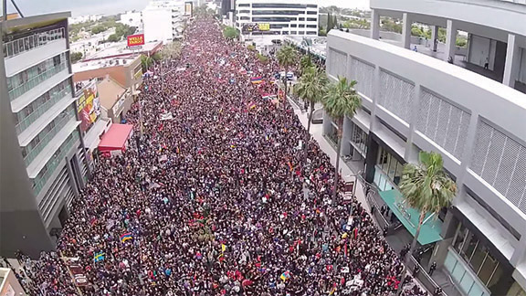 March for Justice in Los Angeles