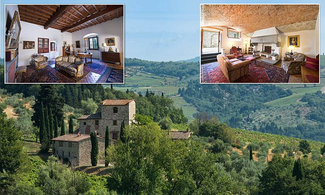 Michelangelo's Tuscany villa can be your Italian holiday home for £5m
