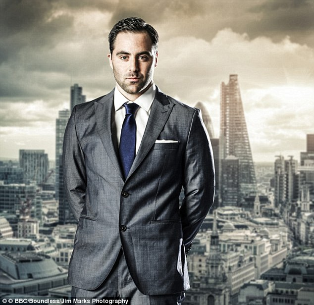 Loving: Daniel, who appeared on the Apprentice in 2014 and was the eleventh contestant to by fired by Lord Sugar, gave his bride Sophie the wedding she had always dreamed of with no expenses spared