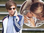 January 26, 2016 -   Louis Tomlinson goes to visit new baby son, Sydney Rain and ex Briana Jungwirth. They get in the same car after he leaves a meeting