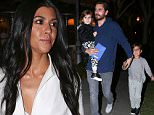 *EXCLUSIVE* Calabasas, CA - Scott Disick was eating at Tosconova with Mason and Penelope when Kourtney Kardashian and a friend walked right on by, without even a wave, to the restaurant next door, Sugarfish Sushi. Kourtney looked like she was ready to party, while Scott looked like he just rolled out of bed.\nAKM-GSI         January 28, 2016\nTo License These Photos, Please Contact :\nSteve Ginsburg\n(310) 505-8447\n(323) 423-9397\nsteve@akmgsi.com\nsales@akmgsi.com\nor\nMaria Buda\n(917) 242-1505\nmbuda@akmgsi.com\nginsburgspalyinc@gmail.com