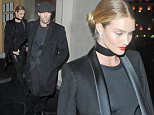 30 Jan 2016 - London - UK  Rosie Huntington Whitely and Jason Statham seen leaving nobu restaurant after enjoying a night out together. Rosie was seen stepping out braless as she left the restaurant with Jason.   BYLINE MUST READ : XPOSUREPHOTOS.COM  ***UK CLIENTS - PICTURES CONTAINING CHILDREN PLEASE PIXELATE FACE PRIOR TO PUBLICATION ***  **UK CLIENTS MUST CALL PRIOR TO TV OR ONLINE USAGE PLEASE TELEPHONE   44 208 344 2007 **