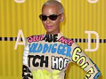 LOS ANGELES, CA - AUGUST 30:  Amber Rose arrives to the 2015 MTV Video Music Awards at Microsoft Theater on August 30, 2015 in Los Angeles, California.  (Photo by C Flanigan/Getty Images)