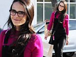 Picture Shows: Jordana Brewster  January 28, 2016\n \n 'The Texas Chainsaw Massacre' Actress Jordana Brewster was spotted shopping in Beverly Hills, California. She looked pretty in pink, adding style to her outfit with black overalls. Jordana plays Denise Brown in the upcoming television series 'American Crime Story: The People vs OJ Simpson' which will premiere Feburary 2nd.\n \n Non Exclusive\n UK RIGHTS ONLY\n \n Pictures by : FameFlynet UK © 2016\n Tel : +44 (0)20 3551 5049\n Email : info@fameflynet.uk.com