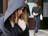 Mandatory Credit: Photo by Startraks Photo/REX/Shutterstock (5574544f)\nMatt Smith\nLily James and Matt Smith out and about, New York, America - 28 Jan 2016\nLily James and Matt Smith Leaving the Greenwich Hotel\n