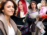 EXCLUSIVE FAO DAILY MAIL ONLINE - GBP 40 PER PICTURE\nMandatory Credit: Photo by Startraks Photo/REX/Shutterstock (5574556e)\nBethenny Frankel, Bryn Hoppy\nBethenny Frankel out and about, New York, America - 28 Jan 2016\nBethenny Frankel Picks up Bryn Hoppy from School\n