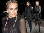 Khloe Kardashian with braided hair and wearing a sheer top was seen arriving at 'The Nice Guy' bar in West hollywood, CA\n\nPictured: Khloe Kardashian\nRef: SPL1217450  290116  \nPicture by: SPW / Splash News\n\nSplash News and Pictures\nLos Angeles: 310-821-2666\nNew York: 212-619-2666\nLondon: 870-934-2666\nphotodesk@splashnews.com\n