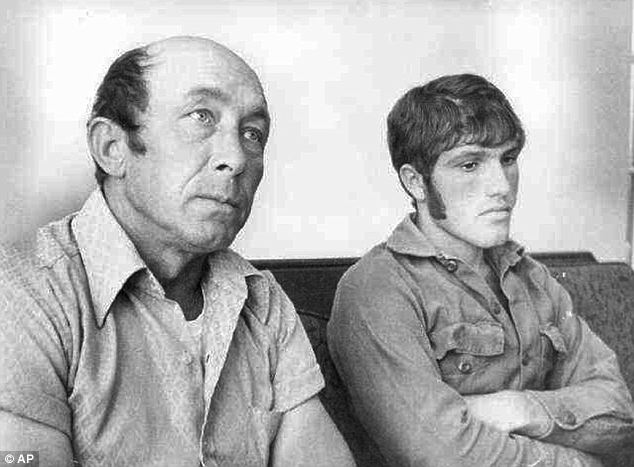 The aftermath: Parker (right) and his co-worker Charles Hinkson (left) became instant sensations in 1973