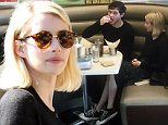 EXCLUSIVE: Emma Roberts and Evan Peters meet for lunch in West Hollywood.\n\nPictured: Emma Roberts, Evan Peters\nRef: SPL1212593  280116   EXCLUSIVE\nPicture by: JLM / Splash News\n\nSplash News and Pictures\nLos Angeles: 310-821-2666\nNew York: 212-619-2666\nLondon: 870-934-2666\nphotodesk@splashnews.com\n