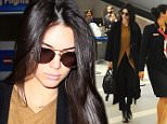 Kendall Jenner arrives at LAX in Los Angeles, CA.\n\nPictured: Kendall Jenner\nRef: SPL1217748  290116  \nPicture by: Aficionado Group  / Splash News\n\nSplash News and Pictures\nLos Angeles: 310-821-2666\nNew York: 212-619-2666\nLondon: 870-934-2666\nphotodesk@splashnews.com\n