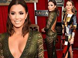 LOS ANGELES, CA - JANUARY 30:  Actress Eva Longoria attends the 22nd Annual Screen Actors Guild Awards at The Shrine Auditorium on January 30, 2016 in Los Angeles, California.  (Photo by Kevork Djansezian/Getty Images)