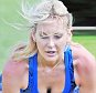 23 Aug 2015  - LONDON  - UK\n*** EXCLUSIVE ALL ROUND PICTURES ***\nUS REALITY TV STAR STEPHANIE PRATT HAVING AN EXERCISE SESSION WITH HER PERSONAL TRAINER IN A PARK IN LONDON\nBYLINE MUST READ : XPOSUREPHOTOS.COM\n***UK CLIENTS - PICTURES CONTAINING CHILDREN PLEASE PIXELATE FACE PRIOR TO PUBLICATION ***\n**UK CLIENTS MUST CALL PRIOR TO TV OR ONLINE USAGE PLEASE TELEPHONE  442083442007