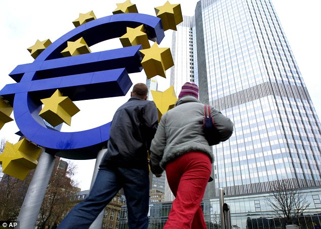 Trouble: Fellow eurozone members Ireland and Portugal have also been forced to take international bailouts, with the threat of contagion rattling Europe's economy and battering the euro