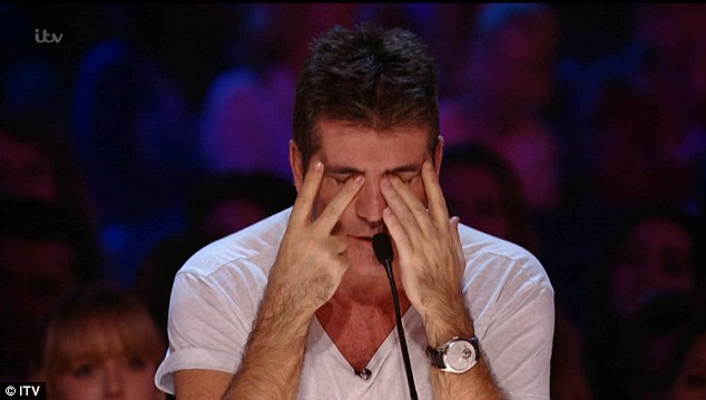 Ouch! Simon Cowell was confident The X Factor would destroy Strictly Come Dancing in the ratings war this year but was left eating his words as it emerged the ballroom dancing show came out on top  on Saturday night