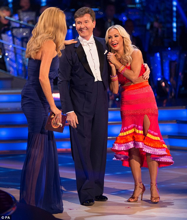 'Delighted': Daniel O'Donnell's wife has broken her silence on her husband's Strictly Come Dancing partnership with Kristina Rihanoff