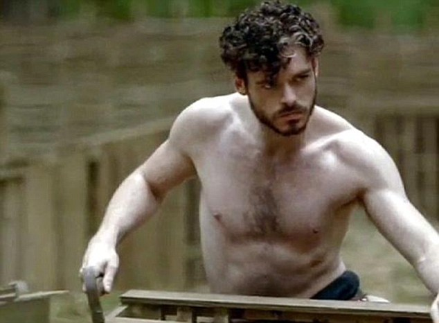 He decided to leave out the swearing, because it sounds so commonplace now: Mellors (Richard Madden) let slip just one rude word, which gave her ladyship a fit of the giggles