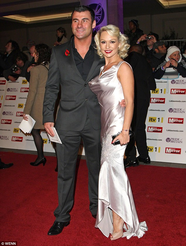 Another one bites the dust: Kristina enjoyed a four-year romance with boxer and 2009 partner Joe Calzaghe who ditched his girlfriend of five years to be with her. Here the couple are pictured at the Pride of Britain Awards in 2010