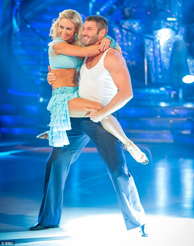Past partners: Kristina was the professional partner of Ben back on the 2013 series of Strictly and, while they insist they weren't seeing each other before his marriage ended, Ben's estranged wife Abby has claimed otherwise